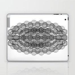 GEOMETRIC NATURE: COULOMB CRYSTAL b/w Laptop & iPad Skin