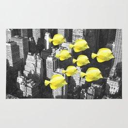 Fish in New York City Rug