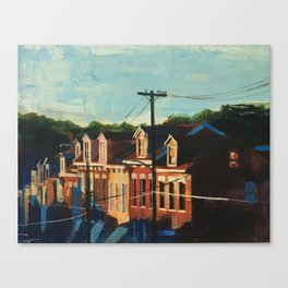 Sunset on 45th St. Canvas Print