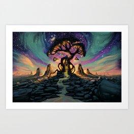 The Taurean Tree Art Print