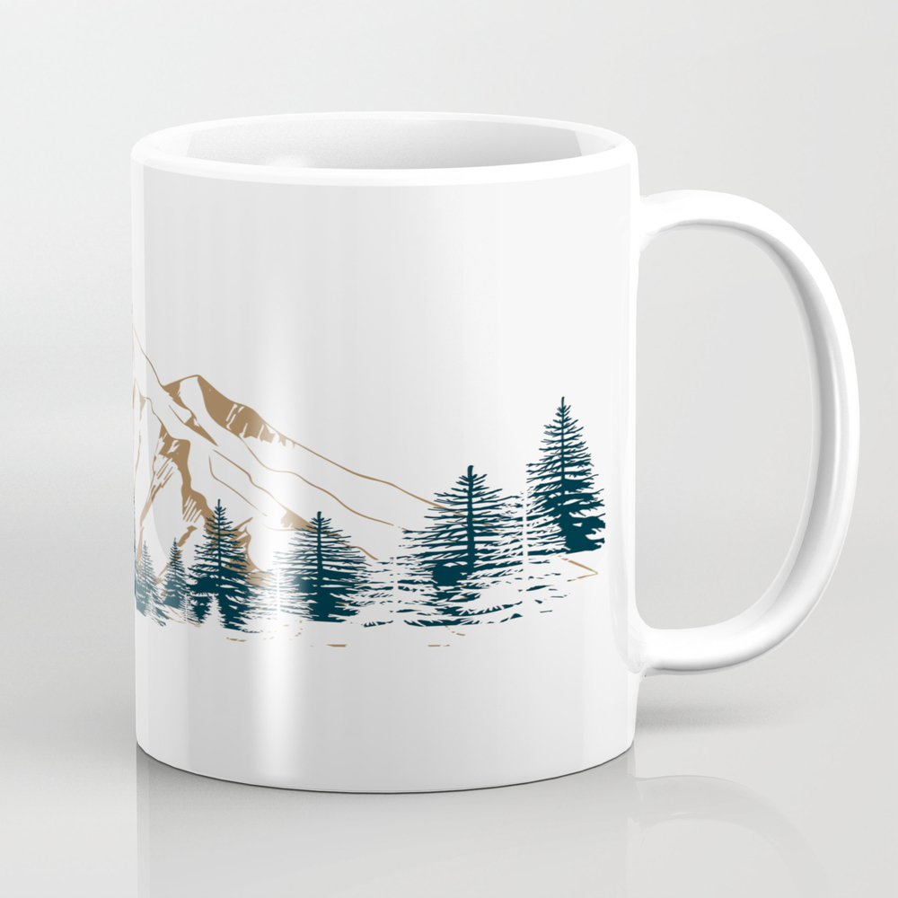 Mountain # 4 Tea Cup by Andreas12 MUG7963614