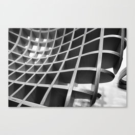 Functional Geometry Canvas Print