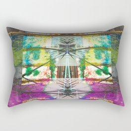 Palm Stripe Rectangular Pillow