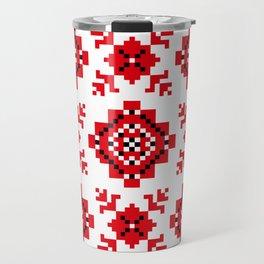 Slavonic national ornament Travel Mug
