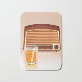 Radio & Whiskey Bath Mat