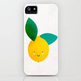 Miss Lemon iPhone Case