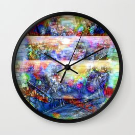where a query might be time goes in what direction Wall Clock