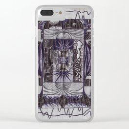 tpf_005_backdrops Clear iPhone Case