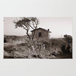 "Abandoned Farmer Village - Sardinia - ""VACANCY "" zine  Rug"