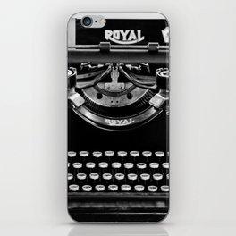 Vintage Typewriter iPhone Skin