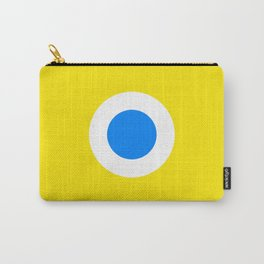 This is the Point, Yellow Pop Art Carry-All Pouch