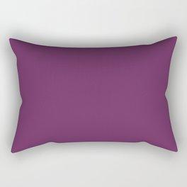 Solid Colors Series - Deep Fuchsia Rectangular Pillow