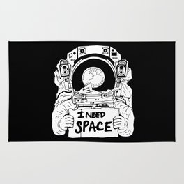 Major Spaceman Rug