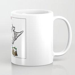 Christmas Rhino Coffee Mug