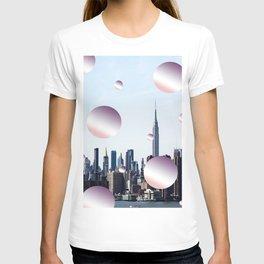 pastell skyline T-shirt
