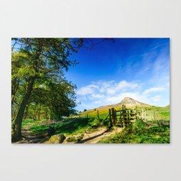 Roseberry Pass Canvas Print