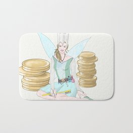 The Tooth Fairy Bath Mat