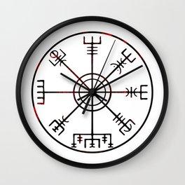 Vegvísir Wall Clock