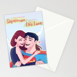 Lois and Clark: Be Your Superman Stationery Cards