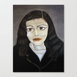 Lucian Freud Study 2014 Canvas Print