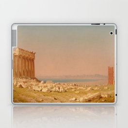 Ruins of the Parthenon Oil Painting by Sanford Robinson Gifford Laptop & iPad Skin