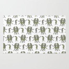 Dancing Lizards Rug