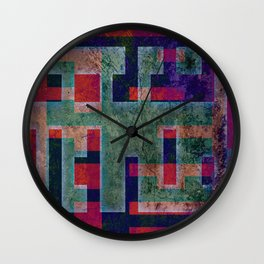 PLANS Wall Clock