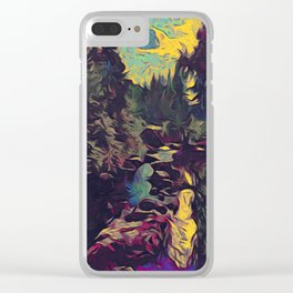 Two Lakes River Clear iPhone Case
