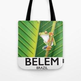 Belem Brazil travel poster Tote Bag