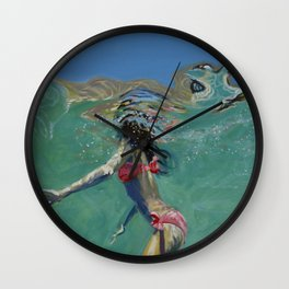 """""""Where is the cliff?"""" Wall Clock"""