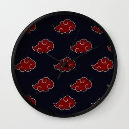 Akatsuki Clan Symbol Wall Clock