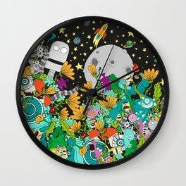 Fantasy kids world Wall Clock