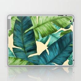 Tropical Banana Leaves Original Pattern Laptop & iPad Skin