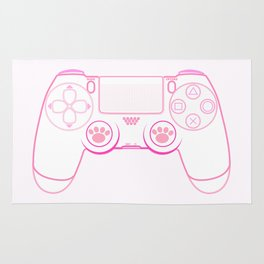 Pink Controller Rug