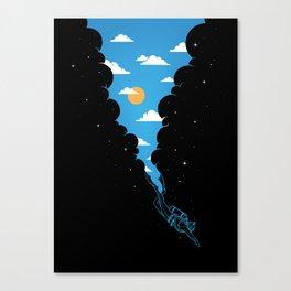 Skydiver Canvas Print