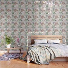 Vanilla Floral D. Wallpaper