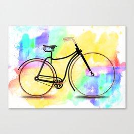 Pedal-driven beauty Canvas Print