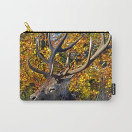Red Deer Resting Carry-All Pouch