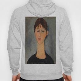 "Amedeo Modigliani ""Portrait of Mme Zborowska"" Hoody"