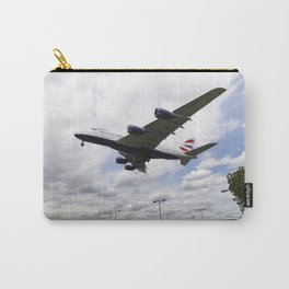 British Airways A380 Heathrow Airport Carry-All Pouch