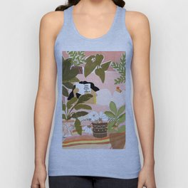 How Many Plants Is Enough Plants? Unisex Tank Top