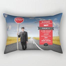 Psalm 1:1 Rectangular Pillow