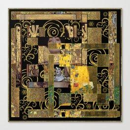 Klimt art Canvas Print