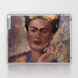 Frida Kahlo Take No Prisoners While Smoking Laptop & iPad Skin