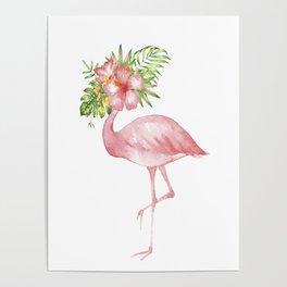 Flamingo Dreams Poster