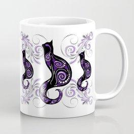 Swirly Cats Coffee Mug