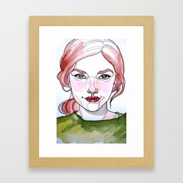 Clover Framed Art Print
