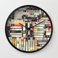 VHS Wall Clock