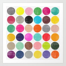colorplay 16 Art Print