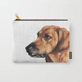 Dog Artwork in coloured pencil Carry-All Pouch